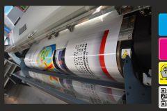 Digitaldruck 1600mm Breite auf 50m-Rollen